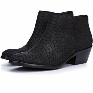 Sam Edelman Petty Snakeskin Boots